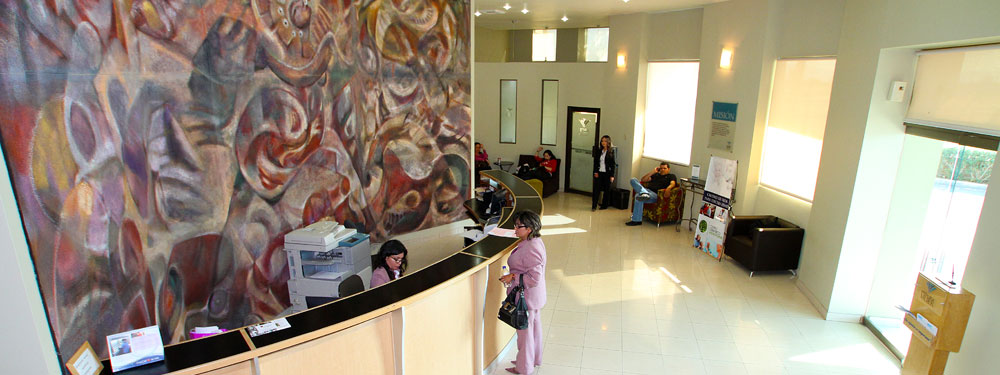 family hospital main reception